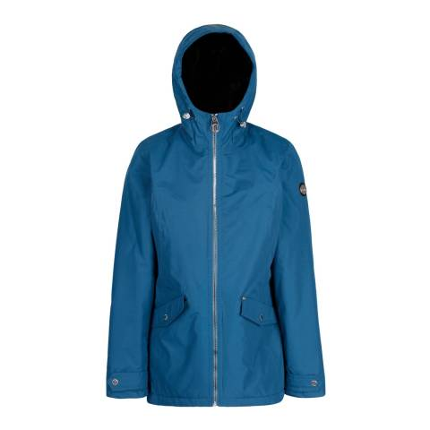 Regatta Blue Bergonia Waterproof Insulated Jacket
