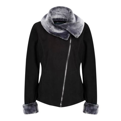 Regatta Black Balencia Fleece Jacket