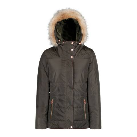 Regatta Dark Khaki Winika Insulated Jacket