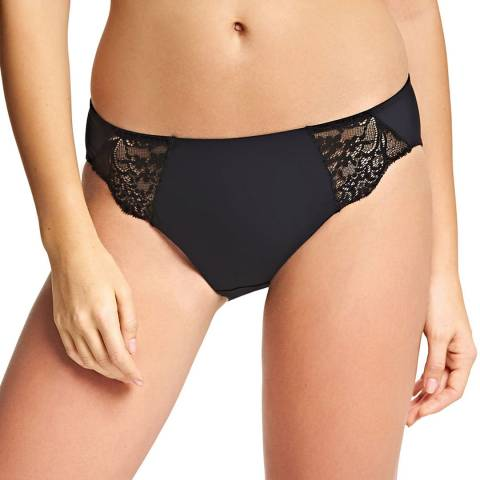 Wacoal Black Lace Impression Hi Cut Brief