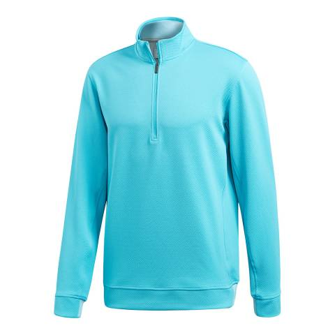 adiPure Blue Technical 1/4 Zip Layer