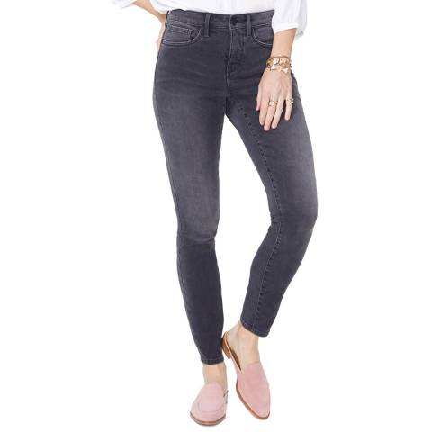 NYDJ Dark Grey Ami Super Skinny Jeans