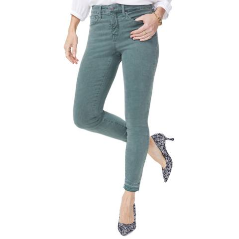NYDJ Pine Ami Ankle Release Hem Skinny Jeans