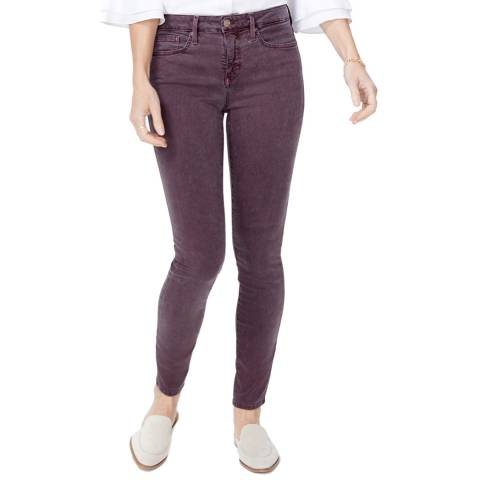 NYDJ Purple Ami Super Skinny Jeans