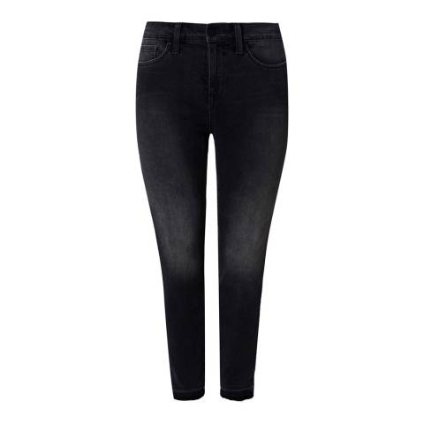 NYDJ Charcoal Ami Ankle Release Hem Skinny Jeans