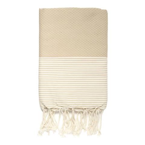Febronie Ibiza Hammam Towel, Beige