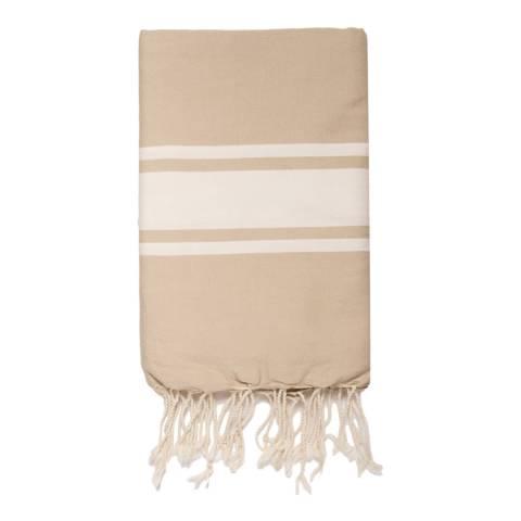 Febronie St Tropez Hammam Towel, Beige