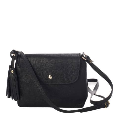 Massimo Castelli Black Crossbody Bag