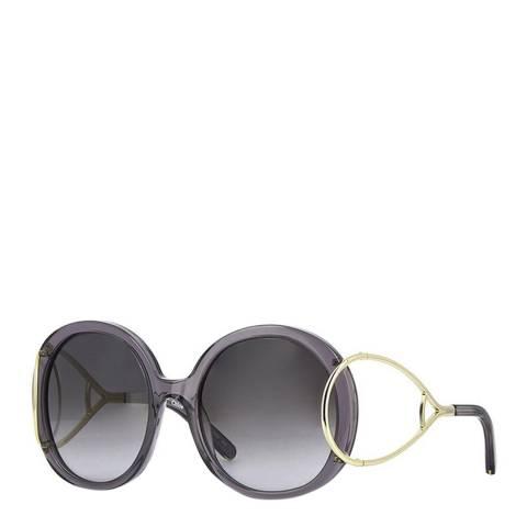 Chloe Women's Dark Grey Chloe Sunglasses 56mm