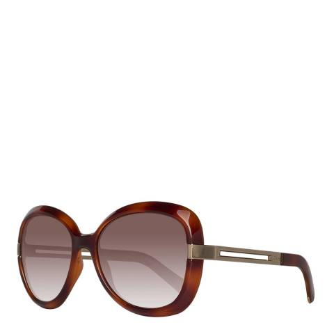 Chloe Women's Light Brown Chloe Sunglasses 55mm