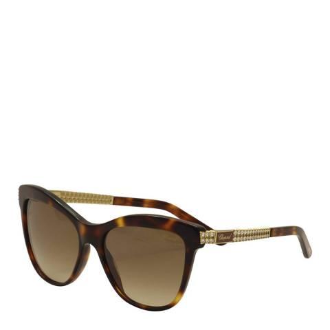 Chopard Women's Brown Chopard Sunglasses 55mm