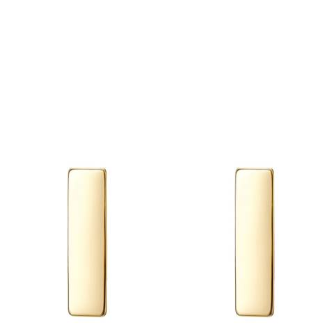 Clara Copenhagen Earring Sterling Silver yellow gold plated