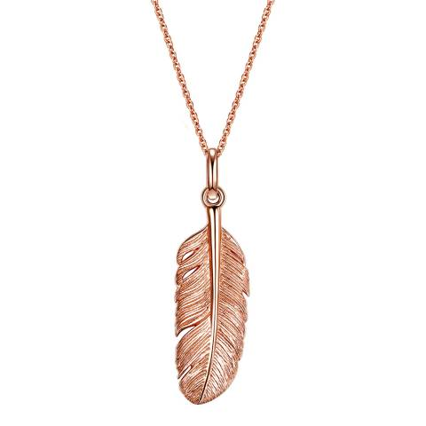 Clara Copenhagen Necklace Sterling Silver rosegold plated