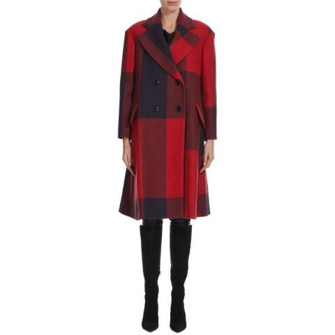 Vivienne Westwood Red Check Princess Coat