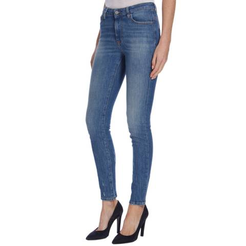 Vivienne Westwood Blue Denim New Skinny Stretch Jeans
