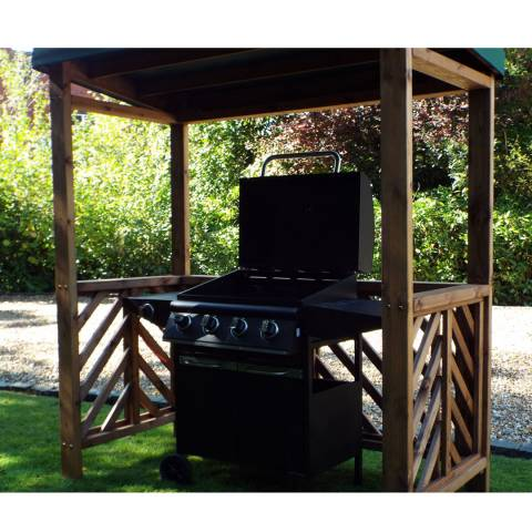 Charles Taylor Dorchester BBQ Shelter (Green Roof Cover)