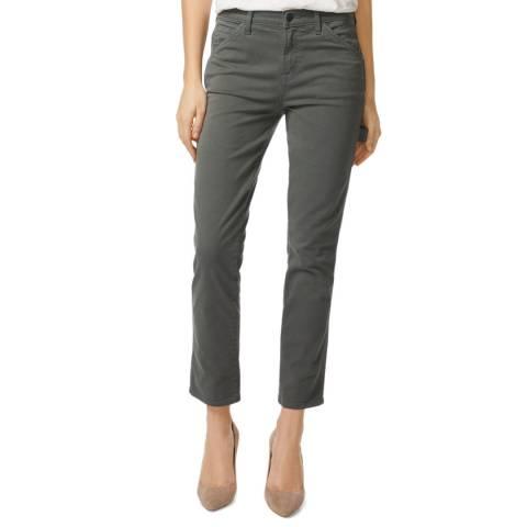 J Brand Granite Ruby Cigarette Stretch Jeans