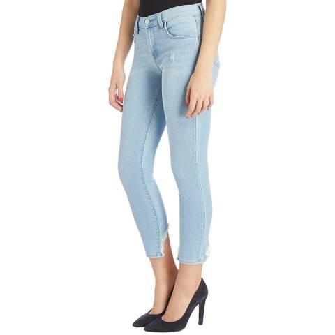 J Brand Blue 835 Capri Skinny Stretch Jeans