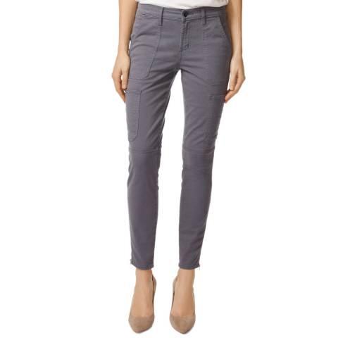 J Brand Slate Utility Skinny Stretch Jeans