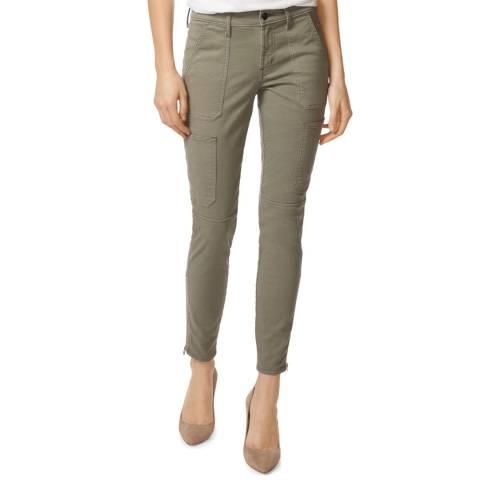 J Brand Moss Utility Skinny Stretch Jeans