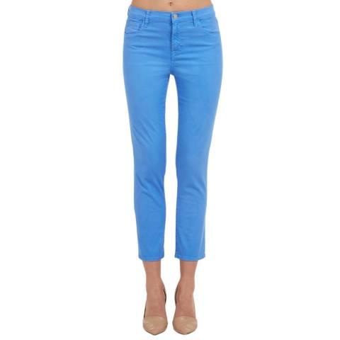 J Brand Cornflower Blue Ruby Cigarette Stretch Jeans