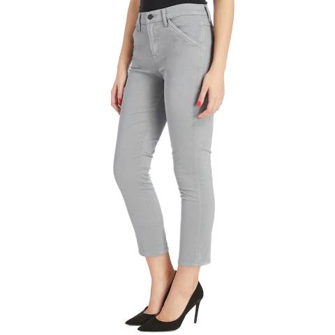 J Brand Slate Ruby Painter Skinny Stretch Jeans
