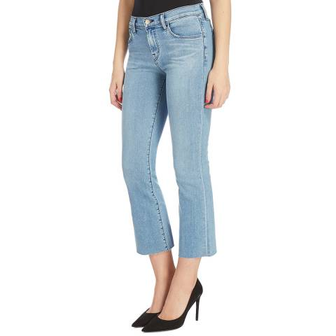J Brand Light Blue Selena Bootcut Stretch Jeans