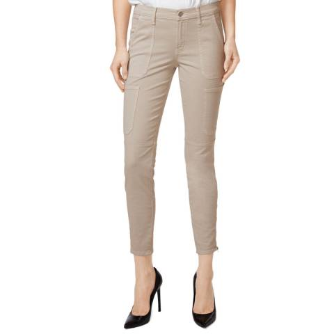 J Brand Sand Utility Skinny Stretch Jeans
