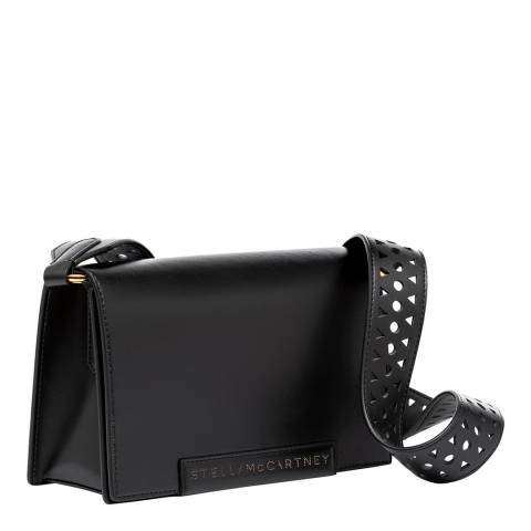 Stella McCartney Black Stella McCartney Laser Cut Shoulder Bag