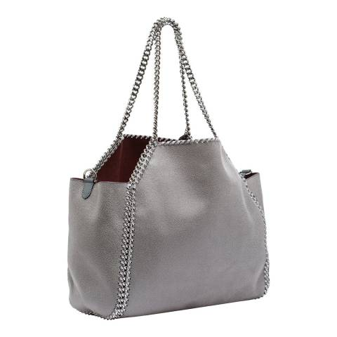 Stella McCartney Light Grey Stella McCartney Falabella Tote Bag