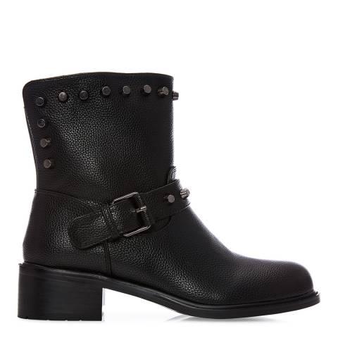 Moda in Pelle Black Bettia Ankle Boots