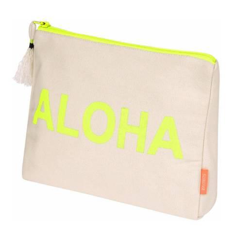 Sunuva Aloha Slogan Wash Bag