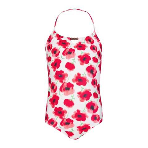 Sunuva Girls Red Poppy Swimsuit