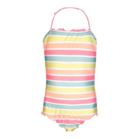 Sunuva Girls Sorbet Stripe Swimsuit