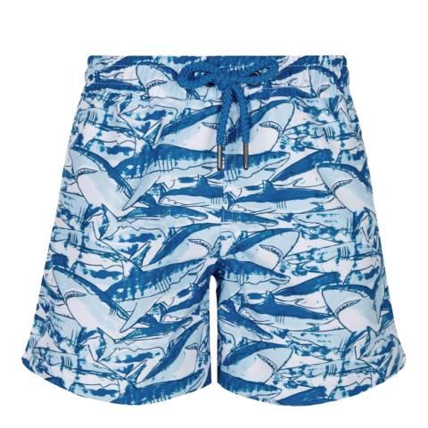 Sunuva Boys Blue Shark Swim Short