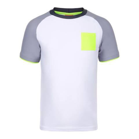 Sunuva Boys Grey and Neon Rash Vest