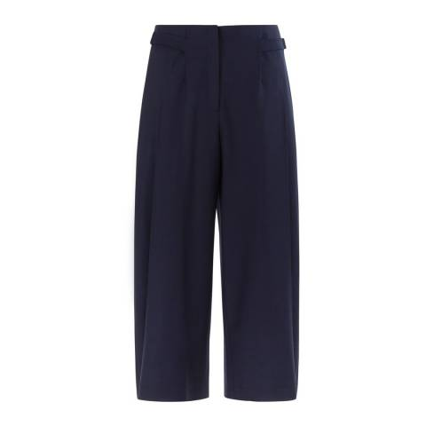 Hobbs London Navy Zoey Culottes