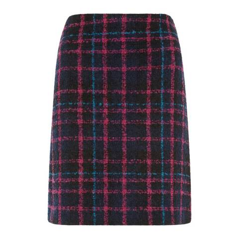 Hobbs London Pink/Multi Rayna Skirt