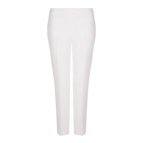 Hobbs London Ivory May Trousers