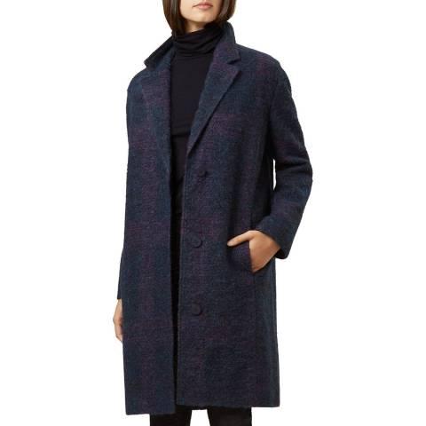 Hobbs London Purple Julie Coat