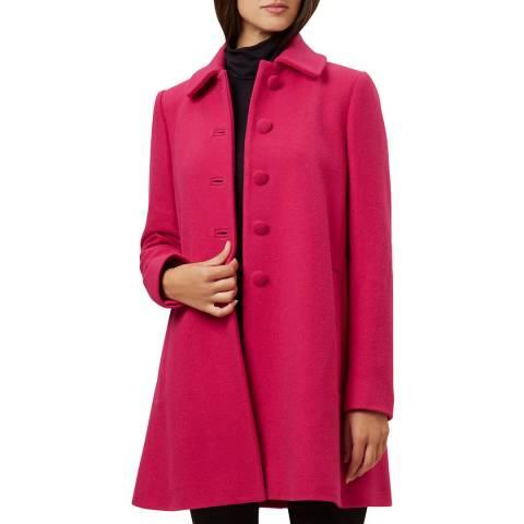 Hobbs London Hot Pink Nikki Coat