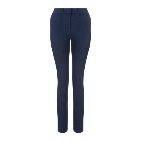 Hobbs London Blue Amanda Stretch Skinny Jeans