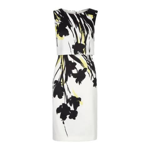 Hobbs London Ivory/Floral Bree Dress