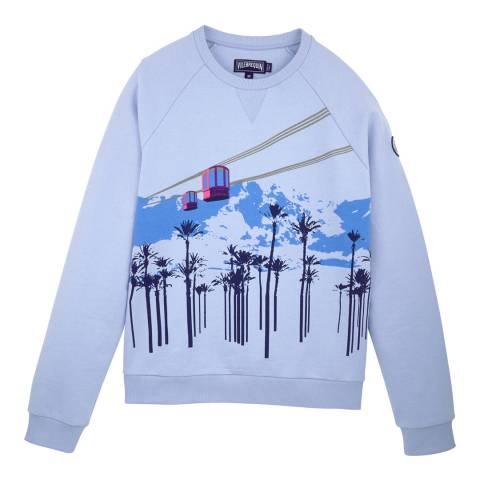 Vilebrequin Blue Cotton Sweatshirt