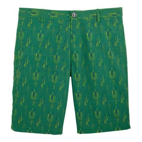 Vilebrequin Lemongrass Space Medusa Bermuda Shorts