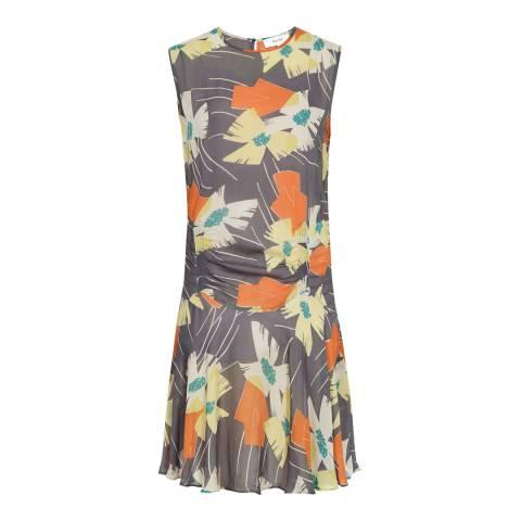 Reiss Multi Remi Floral Dress