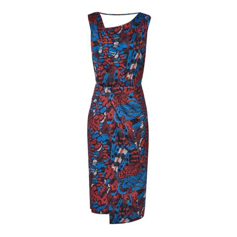 Reiss Multi Diona Cocktail Dress