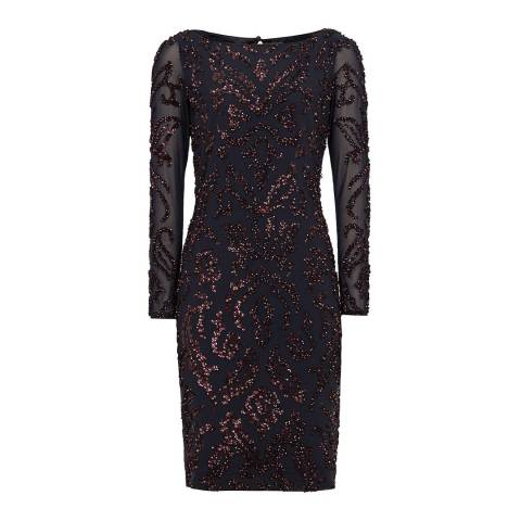 Reiss Multi Siren Sequin Dress