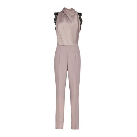 Reiss Ash Kita Lace Back Jumpsuit