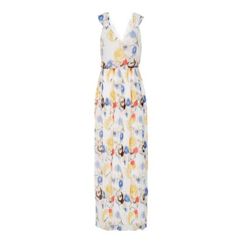 Reiss Multi Daniella Floral Maxi Dress